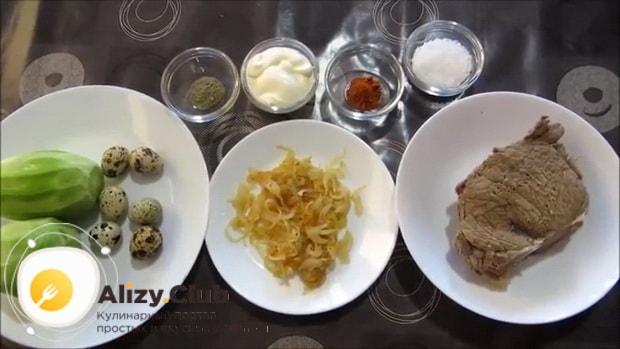 Простой рецепт приготовления салата из зеленой редьки.