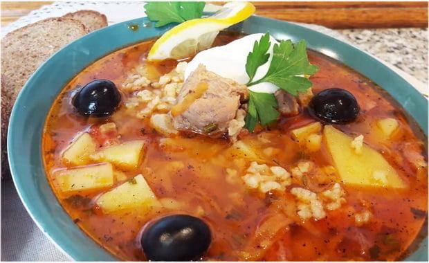 Как приготовить классический суп Харчо из свинины с рисом по пошаговому рецепту с фото