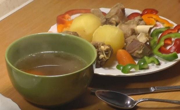 Как приготовить вкусный суп из баранины по пошаговому рецепту с фото