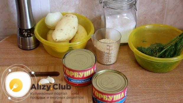 суп из рыбных консервов горбуша рецепт
