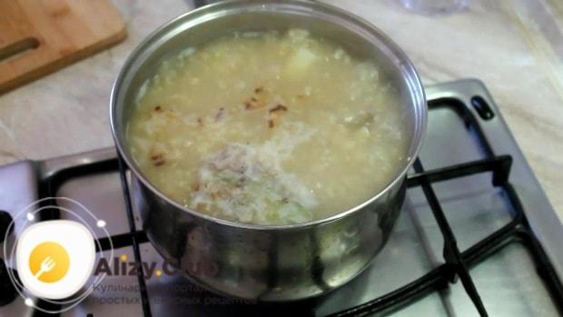 Варим суп еще 2-3 минуты и выключаем