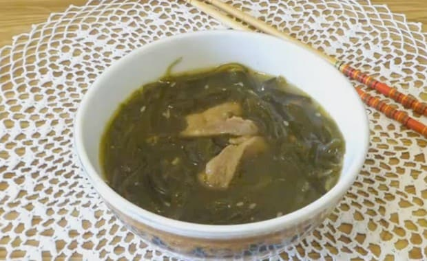 Как приготовить суп из морской капусты по пошаговому рецепту с фото