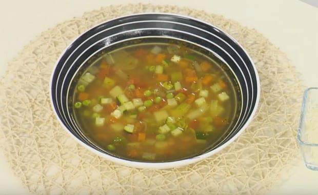 Как приготовить классический итальянский овощной суп Минестроне по пошаговому рецепту с фото