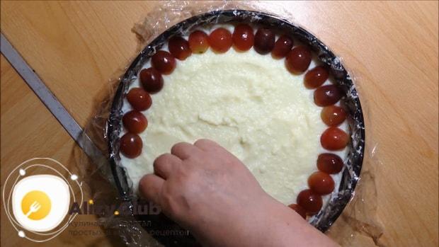 Вкусный тирольского пирога с вишней готов.