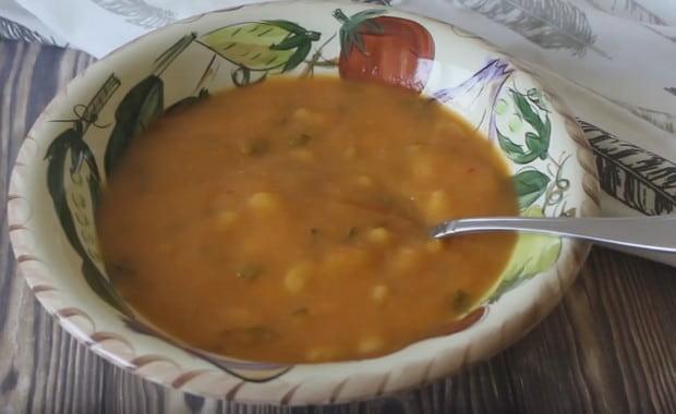 Пошаговый рецепт приготовления томатного супа-пюре