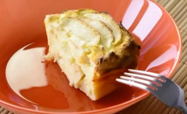 Как сделать творожную запеканку с яблоками в духовке по пошаговому рецепту с фото