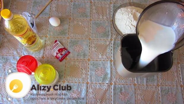 дрожжевое тесто для пирожков в хлебопечке