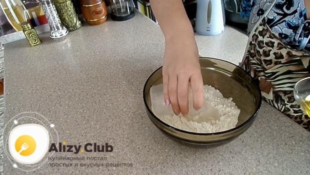 Попробуйте приготовить тесто для пиццы без дрожжей на молоке