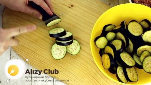 запеканка с баклажанами и помидорами и сыром