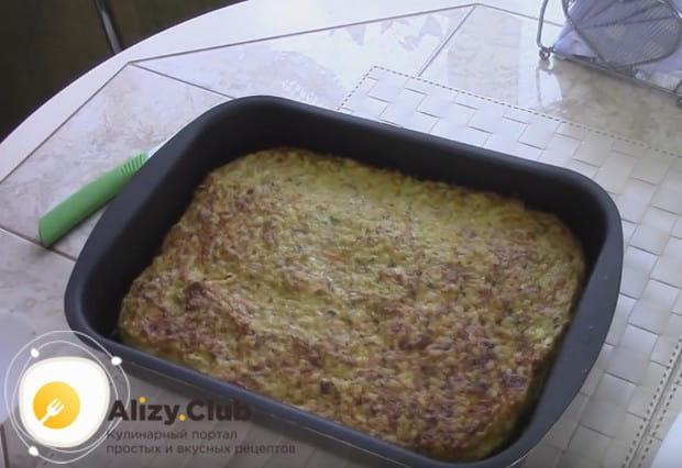 Надеемся, вам понравился такой рецепт мясной запеканки из фарша в духовке.
