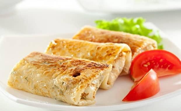Как сделать вкусные блины с ветчиной и сыром по пошаговому рецепту с фото