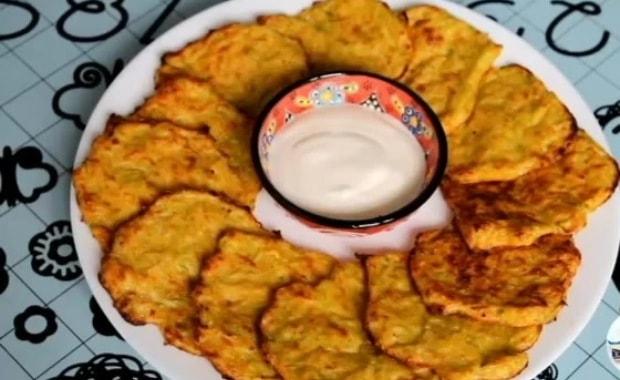 Рецепт приготовления вкусных драников из кабачков