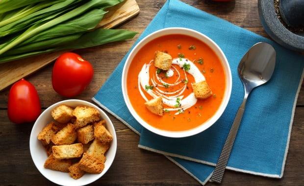 Пошаговый рецепт приготовления классического супа Гаспачо