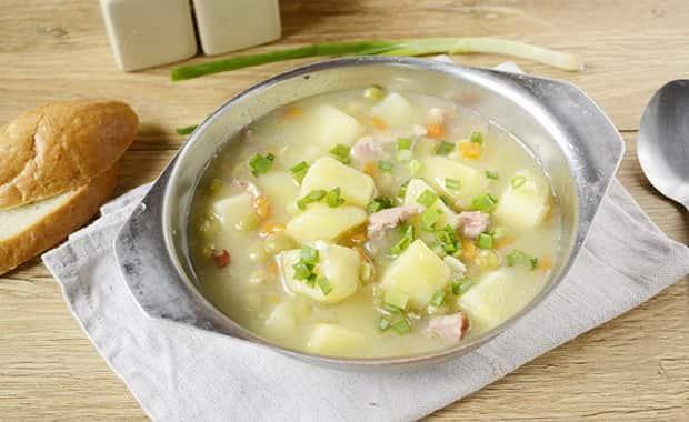 Как сварить гороховый суп с курицей по пошаговому рецепту с фото