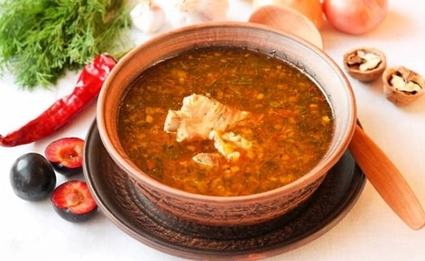 Как приготовить классический суп харчо из курицы с рисом по пошаговому рецепту с фото