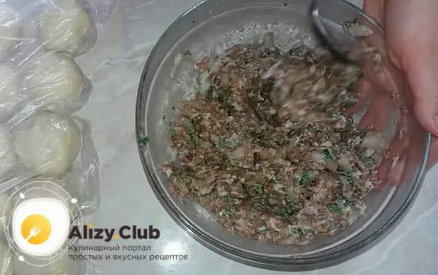 Главное,правильно приготовить начинку для приготовления хинкали по простому рецепту.