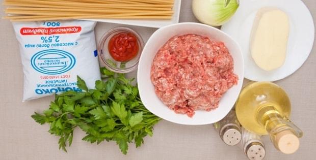 рецепт запеканки с макаронами и фаршем