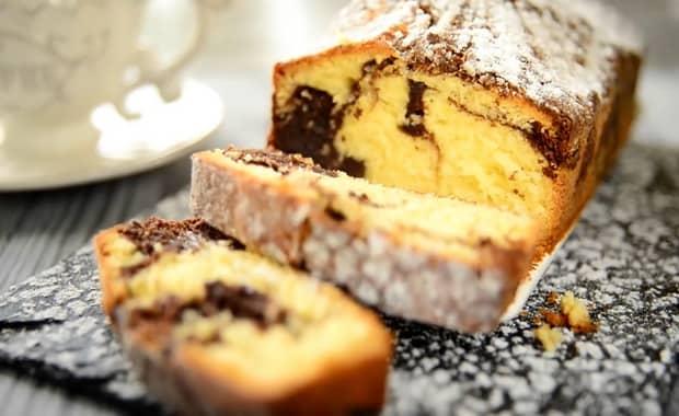 Как приготовить мраморный кекс по пошаговому рецепту с фото