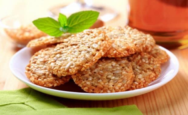Как приготовить кунжутное печенье по пошаговому рецепту с фото