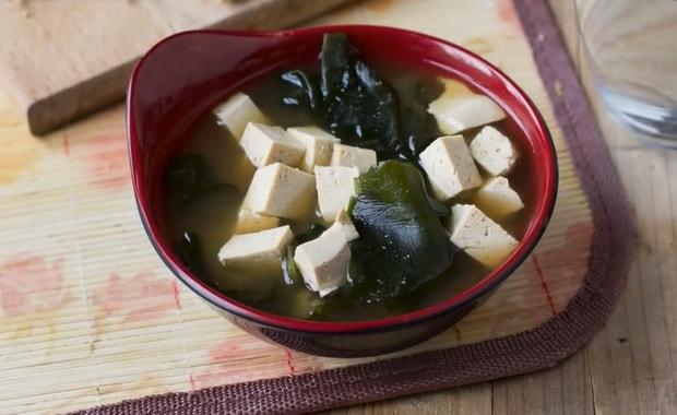 Как приготовить суп с пастой мисо