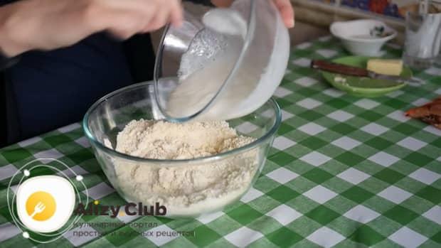 Смотрите как приготовить вкусное печенье на кефире в духовке