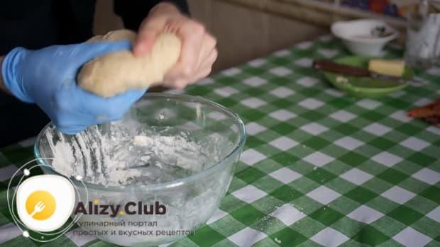 Простой рецепт приготовления домашнего печенья на кефире.