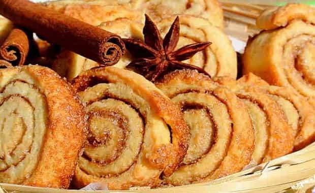 Как приготовить печенье с корицей по пошаговому рецепту с фото