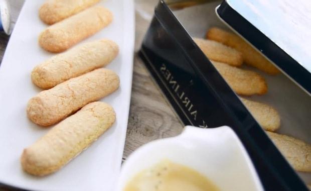 Диетическое печенье савоярди
