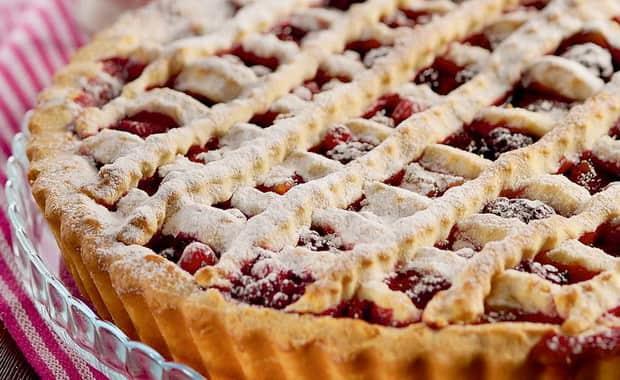 Как приготовить пирог с замороженными ягодами по пошаговому рецепту с фото