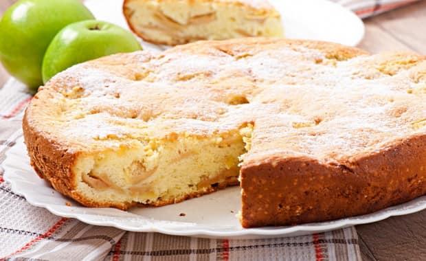 Как приготовить пирог с яблоками на быструю руку по пошаговому рецепту с фото