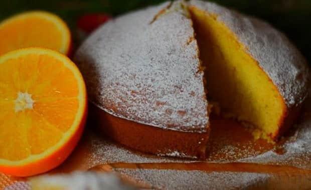Как приготовить апельсиновый пирог по пошаговому рецепту с фото