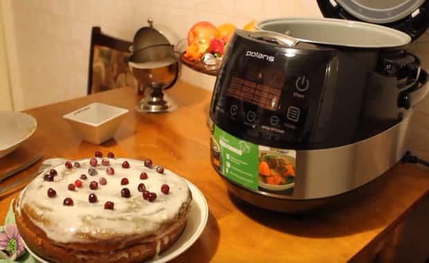 Пошаговый рецепт пирога с вареньем в мультиварке