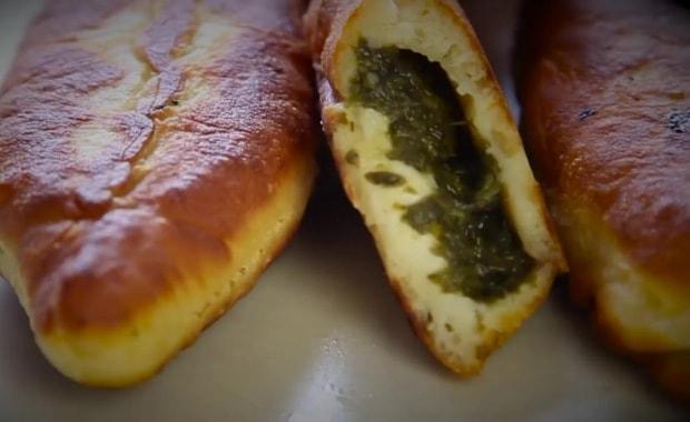Рецепт приготовления вкусных пирожков с щавелем