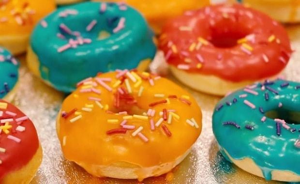 Рецепт приготовления вкусных пончиков в духовке