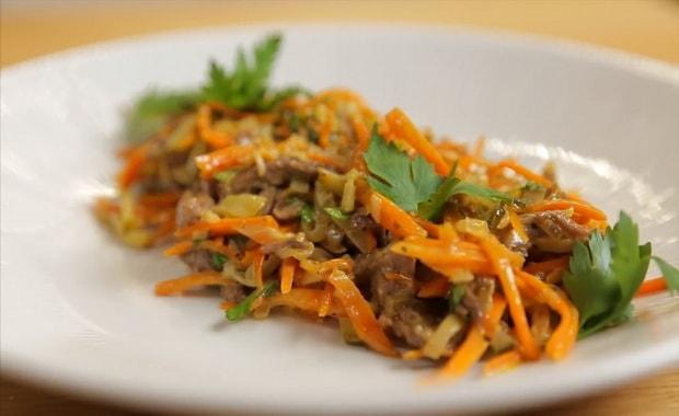 Как приготовить салат Обжорка по пошаговому рецепту с фото