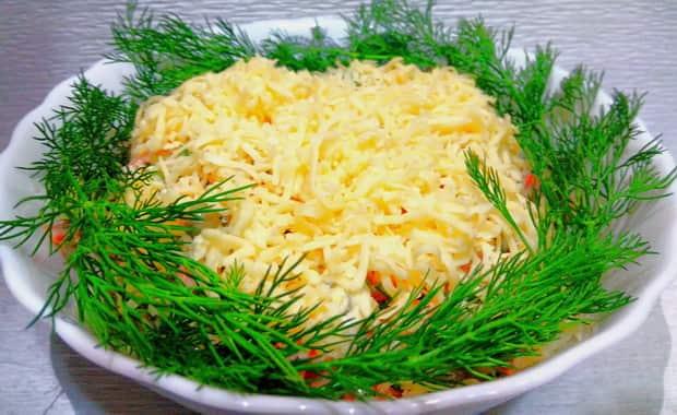 Как приготовить салат Русская красавица по пошаговому рецепту с фото