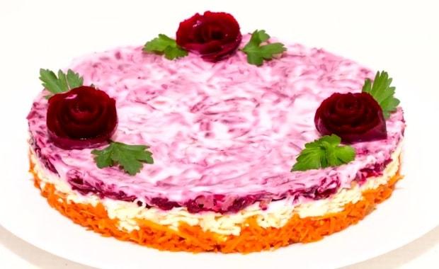 Пошаговый рецепт классического салата Любовница с фото