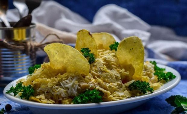 Как приготовить салат Парус по пошаговому рецепту с фото
