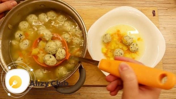 советы по приготовлению супа с фрикадельками