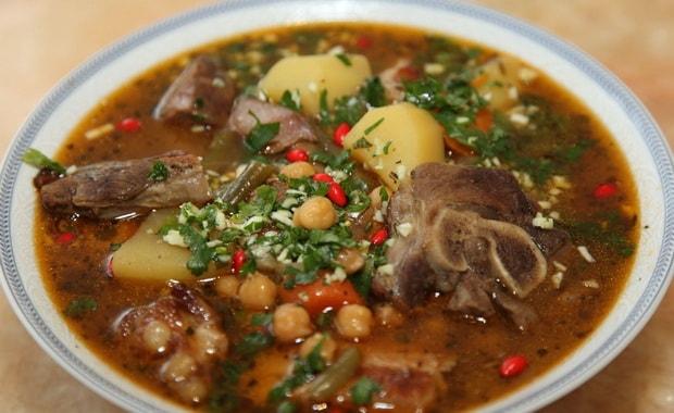 Как сварить суп бозбаш из говядины по-азербайджански по пошаговому рецепту с фото