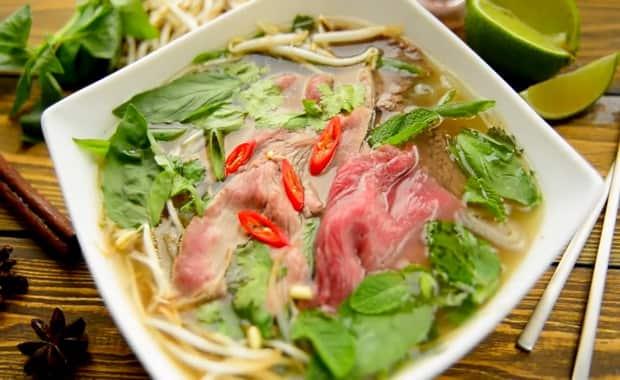 Как приготовить традиционный вьетнамский суп Фо Бо с говядиной по рецепту с фото