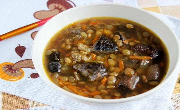Как сварить грибной суп из замороженных грибов по пошаговому рецепту с фото