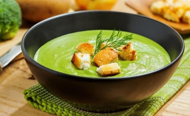 Пошаговый рецепт приготовления супа-пюре из шпината