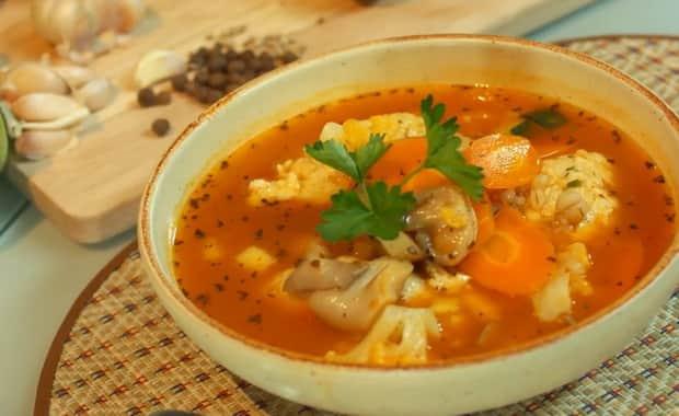 Как приготовить суп с тефтелями по пошаговому рецепту с фото