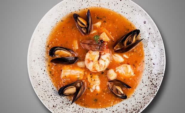 Как приготовить классический рыбный суп Буйабес по пошаговому рецепту с фото