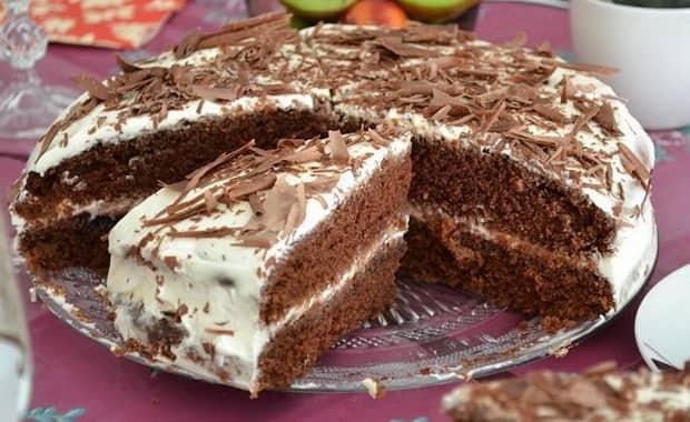 Как приготовить простой торт на кефире по пошаговому рецепту с фото
