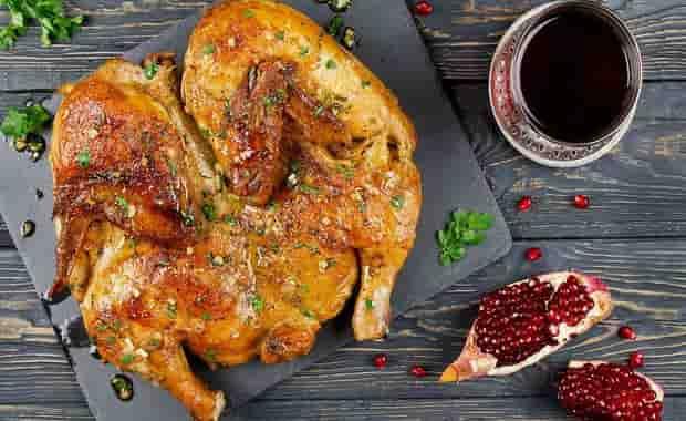 Рецепт приготовления цыпленка табака в духовке