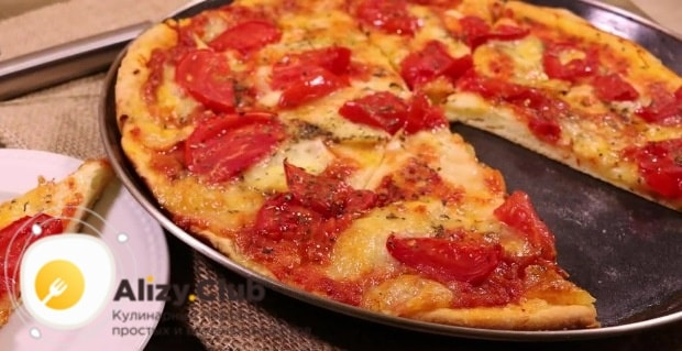 вкуснейшая пицца на кефире
