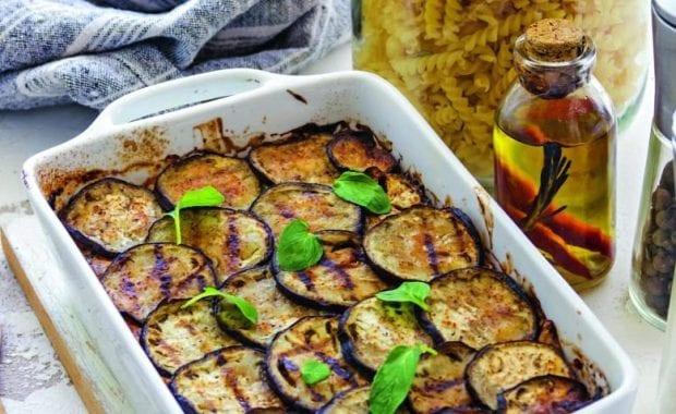 Рецепт приготовления запеканки из баклажанов с помидорами и фаршем