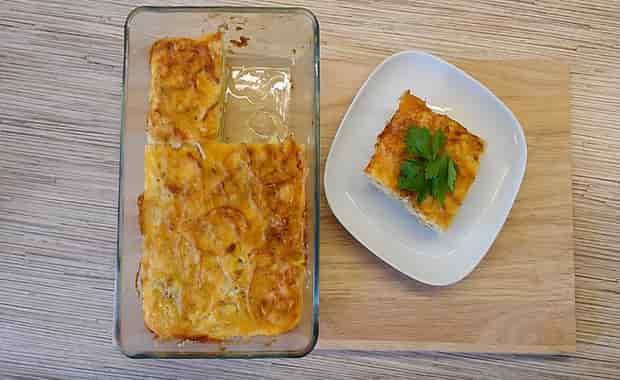 Рецепт приготовления запеканки из кабачков в духовке